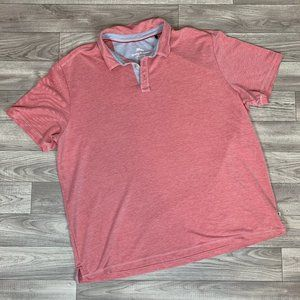 TOMMY BAHAMA Red S/S Polo Shirt sz XXL